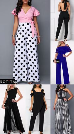 Jumpsuit is a statement style, comfort, easy to wear and just beautiful. Like dresses, jumpsuits come in many styles, so part of pulling off this look is all about finding the right jumpsuit for you. Dress For Girl Child, African Print Jumpsuit, Chic Outfits, Fashion Outfits, Kids Frocks, Jumpsuits For Girls, Professional Dresses, Pants For Women, Clothes For Women