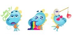 Lizzy McDino Stickers on Behance