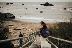 first look ideas - Northern California Elopement - intimate elopement in the redwoods - Jedediah Smith Redwoods wedding - adventurous elopement photos - elopement photographer - destination wedding photographer - The Rowlands photography and filmmaking