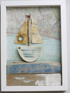Sailing past Brighton    Shirley Vauvelle  ≈  Shadow Boxes