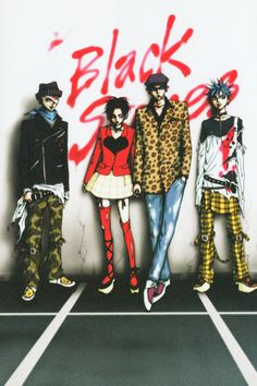 Black Stones AKA BLAST #aiyazawa #nana. Series anime had a complete pop and punk score original to the show. Amazing fashion, strong drama with deep dark topics.