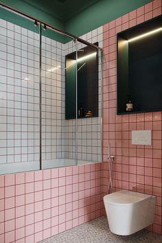 Indian Home Decor .Indian Home Decor Green Home Decor, Home Decor Kitchen, Home Decor Bedroom, Cheap Home Decor, Bedroom Wall, Pink Bathroom Tiles, Pink Tiles, Small Bathroom, Bathtub Tile