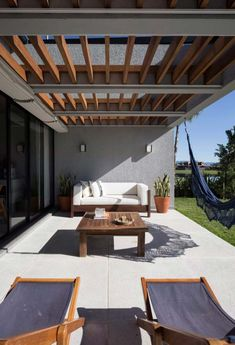 The wooden pergola is a good solution to add beauty to your garden. If you are not ready to spend thousands of dollars for building a cozy pergola then you may devise new strategies of trying out something different so that you can re Wooden Pergola, Outdoor Pergola, Backyard Pergola, Patio Roof, Outdoor Decor, Garage Pergola, Pergola Lighting, Cheap Pergola, Pergola Canopy