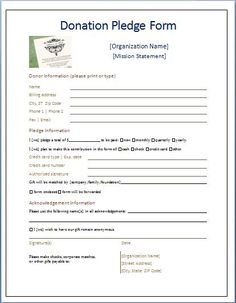 Plan Donation Form  Fundraising    Detective Donation