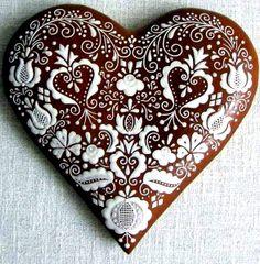 #Christmas gingerbread #cookies ToniK ℬe Meℜℜy Chocolate dipped heart beautiful