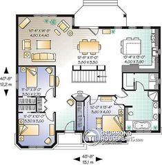 Casa plan W3105