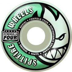 SPITFIRE Wheels F4 Lit Glow Radial (roues phosphorescentes) 52mm 101A 53,00 € #skate #skateboard #skateboarding #streetshop #skateshop @playskateshop