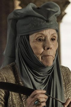 """Still of Diana Rigg in """"Game of Thrones"""" c. 2011"""