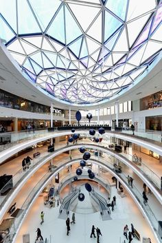 Beaugrenelle Shopping Center in Paris: