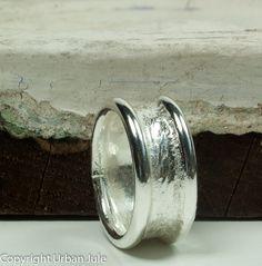 Men Wedding Band Men Wedding Ring Sterling Silver by UrbanJule