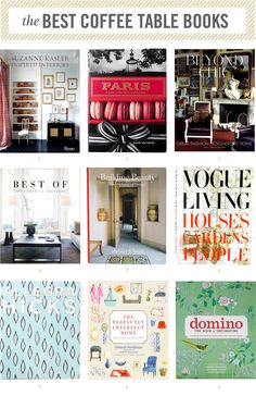 Most Popular Coffee Table Books 2016