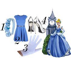 cinderella costume DIY