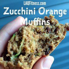 ZUcchini Orange Muffins | LAQfitness.com