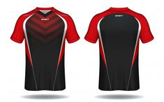 Jersey design sport jersey Vectors, Photos and PSD files Sport Shirt Design, Sports Jersey Design, T Shirt Design Template, Sport T-shirts, Best T Shirt Designs, Sports Uniforms, Sport Fashion, Sport Outfits, Cool Shirts