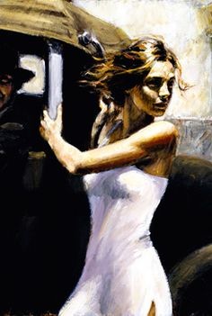 Fabian Perez, ❤ his art for lighting beauty in delusive places.