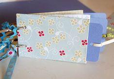 A different kind of mini scrapbook....I like it!