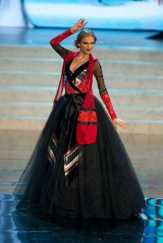What is the national costume of Georgia?