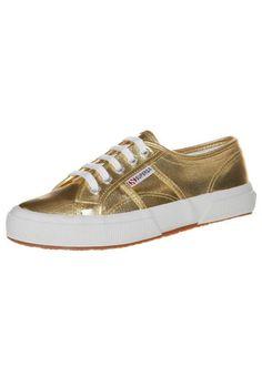 Damen Superga Sneaker low gold -