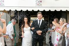 Confetti photo at Cafe Felix in Riebeeck Kasteel. Confetti Photos, Wedding Confetti, Wedding Book, Streamers, Balloons, Wedding Planning, Formal Dresses, Pink, Photography
