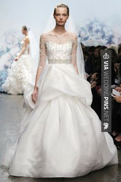Fantastic! - 3. Illusion Neckline Wedding Gown Trend…    Photo Credit If I was getting married this year the illusion neckline would be the wedding gown trend I would rock down the aisle. It may … | CHECK OUT MORE GREAT SAN DIEGO WEDDING PHOTOS AND IDEAS AT WEDDINGPINS.NET | #weddings #wedding #sandiego #sandiegowedding #sandiegoweddingphotographer #bachelorparty #events #forweddings #fairytalewedding #fairytaleweddings #romance