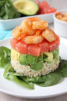 Grapefruit, Avocado, and Shrimp Salad | http://www.thekitchenpaper.com/grapefruit-avocado-and-shrimp-salad/