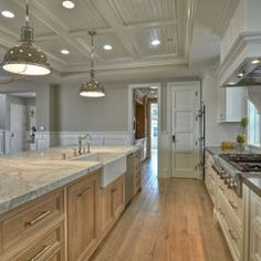 like the coffered ceiling with beadboard insets...