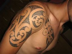 Cool Men's Tattoo Designs & Tattoo Ideas: Maori Arm Tatoos Designs