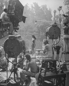 Maria Montez being filmed for a new movie being produced. Photo d'actualité | Getty Images