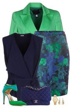 Farbkombination! Marineblau und  Kühles Mittelgrün (Farbpassnummer 35) Kerstin Tomancok / Farb-, Typ-, Stil & Imageberatung