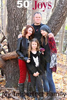50 Joys - My Imperfect Family