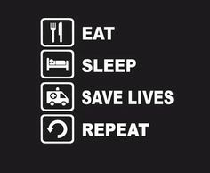 If you get a chance to eat and sleep at all ;-)