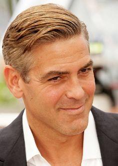 Amerikanın en seksi erkeklerinin saç modelleri 2017 - George Clooney