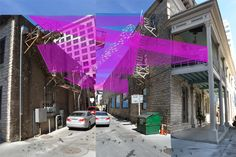 See a downtown alley transform into a vibrant public space during 20ft WIDE | April 17-21, 2013