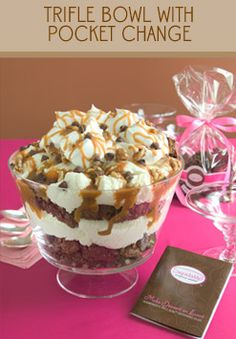 Brownie Trifle: A simple, elegant dessert.  Easy to make.  Delicious to eat.