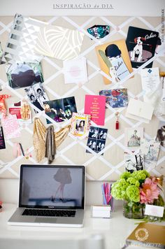 inspirational board // living gazette