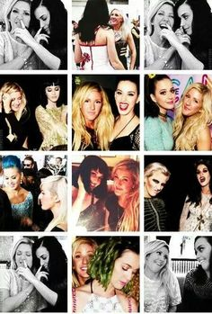 Katy Perry and Ellie Goulding