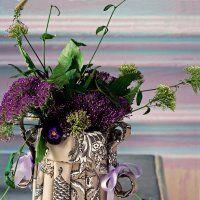 Un vase en toile de jouy - Marie Claire Idées