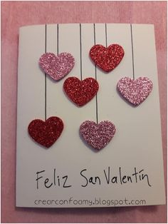 Fourth of July manualidades san valentin, outfit san va… – The Unique Valentine's Day Gifts Easy Valentine Crafts, Valentine Day Cards, Jill Valentine, Mothers Day Crafts, Crafts For Kids, Fun Crafts, Homemade Birthday Cards, Spring Crafts, Kids Cards