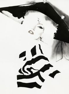 Dior Couture, 2010~by David Downton~❥