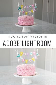 How to edit photos using the Adobe software, Lightroom. A step-by-step tutorial to improve your photos.