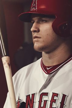 The work of Marcus Eriksson is immediately identifiable in it's ability to tell a narrative that is at once evocative, gripping, and romantic. Angels Baseball, Sports Baseball, Baseball Players, Sports Teams, Mike Trout, Mlb, Poses, Nike, Wallpapers
