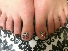 NAIL ART - LEOPARD WITH BOOTS AND HEELS