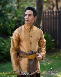 #คุณพี่#ออเจ้า#บุพเพสันนิวาส Traditional Thai Clothing, Traditional Dresses, Actors Birthday, Love Destiny, Thailand Art, Costumes Around The World, Thai Style, Western Outfits, Wedding Attire