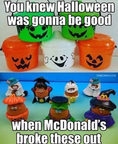 You already know Halloween will be lit if they have you that 𝘍𝘰𝘭𝘭𝘰𝘸 𝘮𝘦 . Old School Toys, School Fun, Halloween Buckets, Halloween Stuff, Vintage Halloween Images, Retro Candy, Childhood Days, 80s Kids, Oldies But Goodies