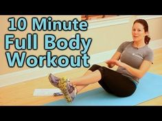 Full Body Cardio Workout at Home for Beginners, 10 Minute Exercise Routine & Fitness Training #cardioforbeginnersathome