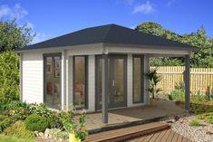 Gartenhaus falttüren die perfekte kombination sunshine pool