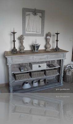 – Vintage Home Decor Decoupage Furniture, Recycled Furniture, Refurbished Furniture, Furniture Makeover, Vintage Furniture, Painted Furniture, Home Furniture, Furniture Ideas, Shabby Chic Salon