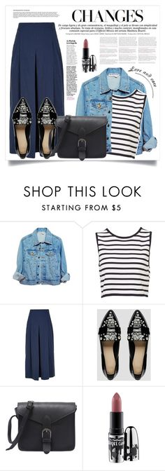 """""""SYREA"""" by virgamaleva ❤ liked on Polyvore featuring TIBI, ASOS and MAC Cosmetics"""
