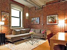 Can't say enough about exposed brick!!!