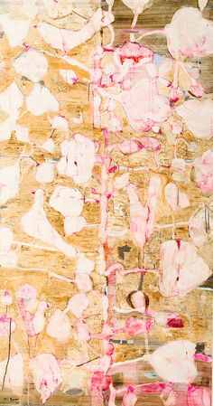 untitled,mixed media on canvas,230x120cm